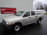 2010 Light Graystone Pearl Dodge Ram 1500 ST Quad Cab 4x4 #75787029