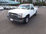 2004 Summit White Chevrolet Silverado 1500 Regular Cab 4x4 #75786858