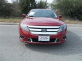 2010 Sangria Red Metallic Ford Fusion Sport #75786464