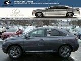 2013 Nebula Gray Pearl Lexus RX 450h AWD #75786647