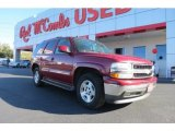 2005 Sport Red Metallic Chevrolet Tahoe LT #75786449