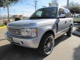 Zambezi Silver Metallic Land Rover Range Rover in 2005