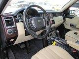 2005 Land Rover Range Rover HSE Parchment/Navy Interior