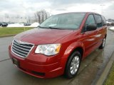2009 Chrysler Town & Country Inferno Red Crystal Pearl