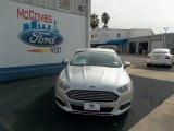 2013 Ingot Silver Metallic Ford Fusion S #75787505