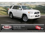 2013 Blizzard White Pearl Toyota 4Runner Limited 4x4 #75786240