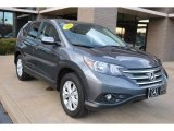 2012 Polished Metal Metallic Honda CR-V EX 4WD #75786796