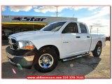 2010 Stone White Dodge Ram 1500 ST Quad Cab #75786782