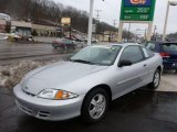 2002 Ultra Silver Metallic Chevrolet Cavalier LS Coupe #75786777