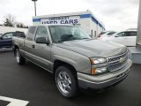 2006 Graystone Metallic Chevrolet Silverado 1500 LS Extended Cab 4x4 #75871415