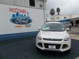 2013 White Platinum Metallic Tri-Coat Ford Escape SE 1.6L EcoBoost #75871268
