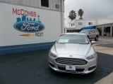 2013 Ingot Silver Metallic Ford Fusion S #75871265
