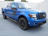 2012 Blue Flame Metallic Ford F150 FX4 SuperCrew 4x4 #75871304