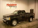 2009 Black Chevrolet Silverado 1500 LT Regular Cab 4x4 #75881252