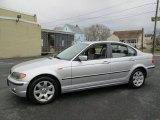 2004 Titanium Silver Metallic BMW 3 Series 325xi Sedan #75881140