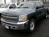 2013 Blue Granite Metallic Chevrolet Silverado 1500 LT Crew Cab 4x4 #75880667