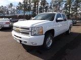 2013 Summit White Chevrolet Silverado 1500 LT Crew Cab 4x4 #75881107