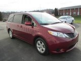 2011 Toyota Sienna Salsa Red Pearl