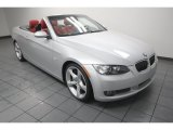 2009 Titanium Silver Metallic BMW 3 Series 335i Convertible #75881001