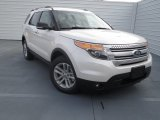 2013 White Platinum Tri-Coat Ford Explorer XLT #75880870