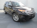 2013 Tuxedo Black Metallic Ford Explorer XLT #75880869