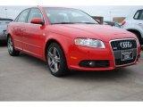 2008 Brilliant Red Audi A4 2.0T Special Edition Sedan #75881153