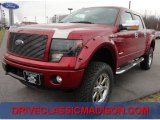 2013 Ruby Red Metallic Ford F150 FX4 SuperCrew 4x4 #75881069