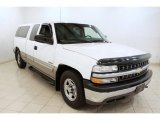 1999 Summit White Chevrolet Silverado 1500 LS Extended Cab #75881067