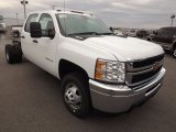 2013 Chevrolet Silverado 3500HD WT Crew Cab 4x4 Dually Chassis Data, Info and Specs