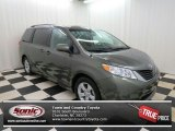 2011 Cypress Green Pearl Toyota Sienna LE #75881060
