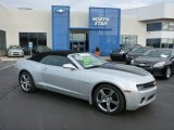 2012 Silver Ice Metallic Chevrolet Camaro LT/RS Convertible #75880834
