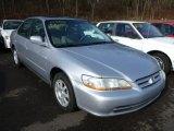 2002 Satin Silver Metallic Honda Accord EX Sedan #75880826