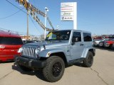 2012 Winter Chill Pearl Jeep Wrangler Sahara Arctic Edition 4x4 #75924734