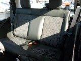 2012 Jeep Wrangler Sahara Arctic Edition 4x4 Rear Seat
