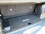 2012 Jeep Wrangler Sahara Arctic Edition 4x4 Trunk