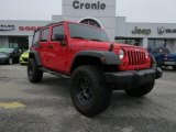 2012 Flame Red Jeep Wrangler Unlimited Sport S 4x4 #75924733