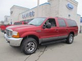 2001 Toreador Red Metallic Ford Excursion XLT 4x4 #75924723