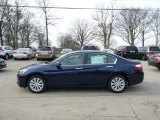 2013 Obsidian Blue Pearl Honda Accord EX-L Sedan #75924988