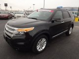 2011 Ebony Black Ford Explorer XLT 4WD #75924837
