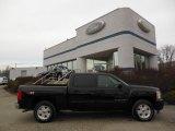 2009 Black Chevrolet Silverado 1500 LT Z71 Crew Cab 4x4 #75924430