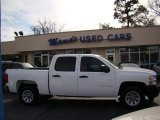 2011 Summit White Chevrolet Silverado 1500 Crew Cab #75924819