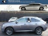 2013 Nebula Gray Pearl Lexus RX 350 F Sport AWD #75924703