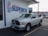 2012 Bright Silver Metallic Dodge Ram 1500 SLT Quad Cab #75924553