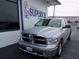2012 Bright Silver Metallic Dodge Ram 1500 SLT Quad Cab #75924549