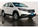 2013 White Diamond Pearl Honda CR-V LX #75924688