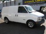 2001 Ivory White Chevrolet Astro Commercial Van #75924413