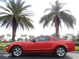 2007 Torch Red Ford Mustang V6 Premium Coupe #75924409