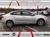 2013 Bright Silver Metallic Dodge Dart Limited #75924401