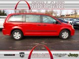 2013 Redline 2 Coat Pearl Dodge Grand Caravan American Value Package #75924397