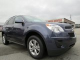2013 Atlantis Blue Metallic Chevrolet Equinox LT #75924791